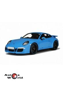 Macheta auto Porsche 911 (991) Carrera 4S, 1:18 GT Spirit