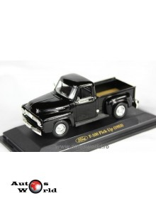 Ford F100 Pick Up negru, 1:43 Yatming