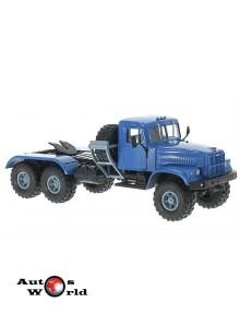 Macheta camion KrAZ 255V1 albastru, 1:43 Special Co
