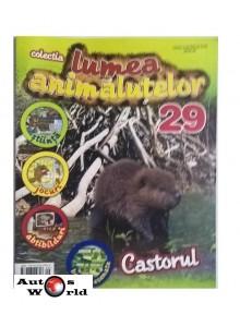 Lumea Animalutelor Nr.29 - Castor, Amercom