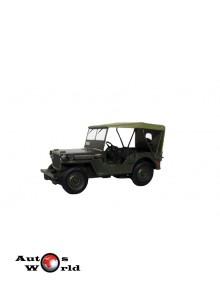 Jeep Willys MB - Kultoweauta PL, 1:43 Deagostini/IST