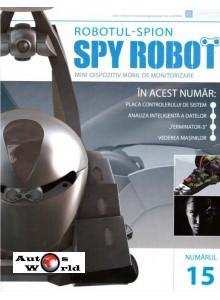Colectia Spy Robot Nr 15 Kit de asamblat, Eaglemoss