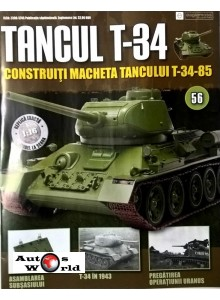 Colectia Tancul Т-34 Nr.56, 1:16 macheta kit de asamblat, Eaglemoss