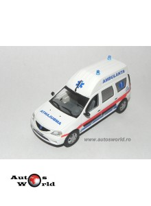 Dacia Logan MCV Ambulance Roumaine 1.5 DCI, 1:43 Eligor