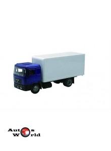Macheta camion MAN F2000 acoperit, 1:43 Newray