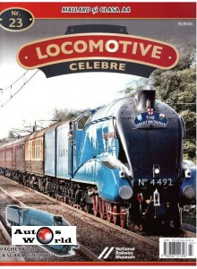 Locomotive Celebre Nr.23 - Mallard si Clasa A4 , 1:76 Amercom
