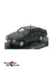 Macheta auto Alfa Romeo 75 1.6 I.E. Carabinieri 1998, 1:43 Deagostini