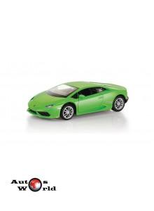 Macheta auto Lamborghini Huracan LP610-4 verde 5 inch, 1:32-36 RMZ City