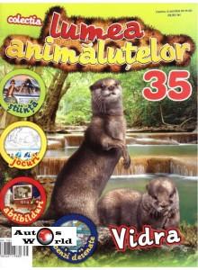Lumea Animalutelor Nr.35 - Vidra, Amercom