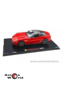 Ferrari 599 GTO, 1:43 Hotwheels Elite
