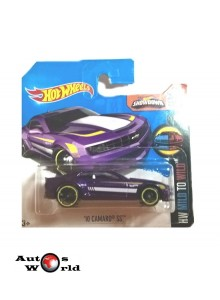 Macheta auto Chevrolet Camaro SS '10, 1:64 Hotwheels