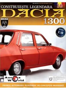 Macheta auto Dacia 1300 KIT Nr.16 - punte spate, scara 1:8 Eaglemoss