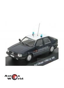 Macheta auto Fiat Croma Turboie Carabinieri 1990, 1:43 Deagostini