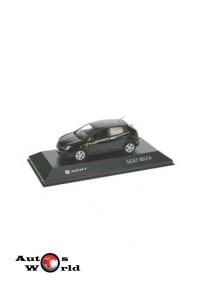 Macheta auto Seat Ibiza 5-door negru, 2013, 1:43 Fischer