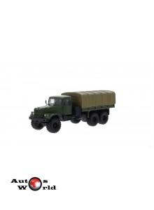 Macheta Camion KrAZ 255B, verde cu prelata, 1:43 Special Co ...