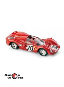Macheta auto Ferrari 330 P4 Spider Le Mans 1967 , 1:43 Brumm