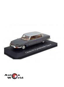Macheta auto Citroen DS 21 presidentielle Chapron *Nixon* 1969, 1:43 Norev