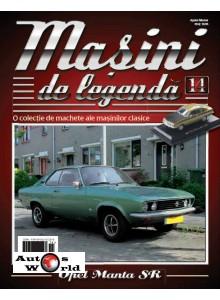 Masini De Legenda Nr.14 - Macheta auto Opel Manta 1970, 1:43 Amercom