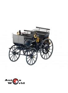Macheta auto Mercedes Daimler Motorkutsche albastru 1886 , 1:18 Norev