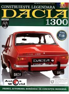Macheta auto Dacia 1300 KIT Nr.18 - rezervor, scara 1:8 Eaglemoss