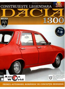 Macheta auto Dacia 1300 KIT Nr.32 - mocheta portbagaj, scara 1:8 Eaglemoss