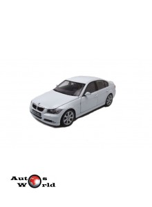 Macheta auto BMW 330i alb 2004, 1:24 Welly