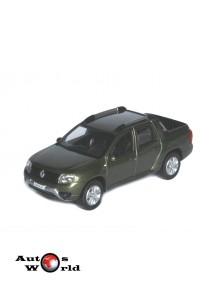 Macheta auto Dacia / Renault Duster Oroch 2016 verde, 1:43 Norev