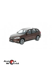 Macheta auto BMW X5 (F15) maro, 1:24 Welly