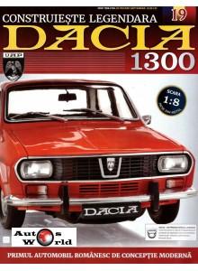 Macheta auto Dacia 1300 KIT Nr.19 - linie esapament, scara 1:8 Eaglemoss