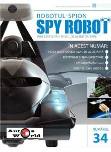 Colectia Spy Robot Nr 34 Kit de asamblat, Eaglemoss