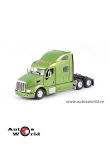 Camion Peterbilt 587 Sleeper Cab 6x4 verde, 1:53 Tonkin