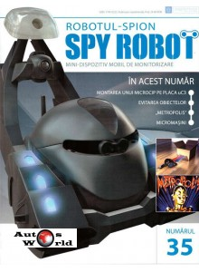 Colectia Spy Robot Nr 35 Kit de asamblat, Eaglemoss