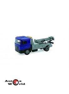 Macheta camion MAN F2000 tractari auto, 1:43 Newray