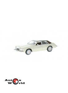 Macheta auto Cadillac Seville MK II elegante crem 1980, 1:43 Whitebox