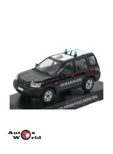 Macheta auto Land Rover Freelander Carabinieri 2003, 1:43 Deagostini