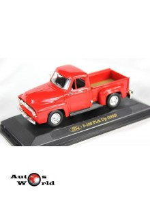 Ford F100 Pick Up rosu, 1:43 Yatming