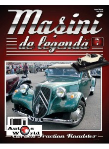 Masini De Legenda Nr. 7 - Macheta auto Citroen Traction Roadster 1939, 1:43 Amercom