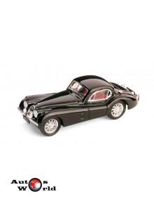 Macheta auto Jaguar XK120 Coupe' 1948 negru, 1:43 Brumm