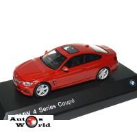 Macheta auto BMW Seria 4 coupe (F32) 2013 rosu, 1:43 Paragon ...