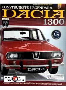 Macheta auto Dacia 1300 KIT Nr.3 - roata, scara 1:8 Eaglemoss