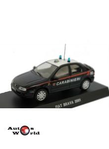 Macheta auto Fiat Brava Carabinieri  2001, 1:43 Deagostini