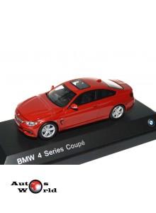 Macheta auto BMW Seria 4 coupe (F32) 2013 rosu, 1:43 Paragon
