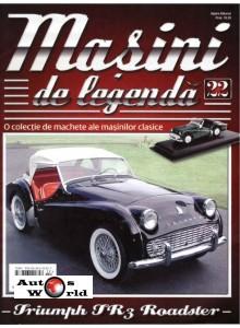 Masini De Legenda Nr.22 - Macheta auto Triumph TR3 Roadster, 1:43 Amercom ...