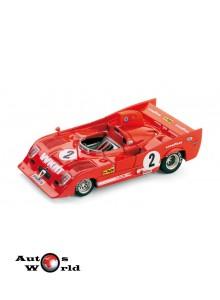 Macheta auto Alfa Romeo 33TT12 1000Km Monza 1975, 1:43 Brumm