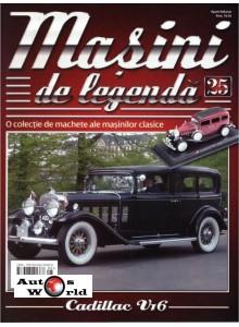 Masini De Legenda Nr.25 - Macheta auto Cadillac V16 1932, 1:43 Amercom ...