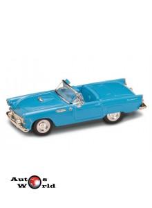Ford Thunderbird decapotabil albastru 1955, 1:43 Lucky Diecast