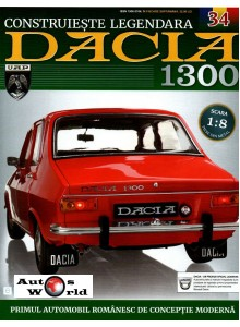Macheta auto Dacia 1300 KIT Nr.34 - elemente bord part 2, scara 1:8 Eaglemoss