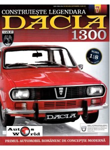 Macheta auto Dacia 1300 KIT Nr.7 - motor ventilator, scara 1:8 Eaglemoss