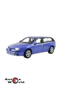 Macheta auto Alfa Romeo 156 albastru, 1:72 Cararama
