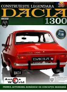 Macheta auto Dacia 1300 KIT Nr.30 - elemente pasaj roata spate, scara 1:8 Eaglemoss